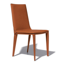 Renzo Fauciglietti and Graziella Bianchi - Harmony Side Chair - By incorporating flexible harmonic steel in the construction of the chair backs, designers Renzo Fauciglietti and Graziella Bianchi have created a chair of uncompromising quality and comfort.