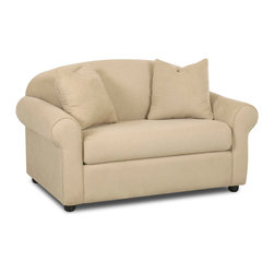 Savvy - Chicago Big Chair, Fastlane Oatmeal - The Chicago Big Chair is offered in three durable upholsteries.  The Chicago provides traditional styling with rolled arms and a sloping camel-back.
