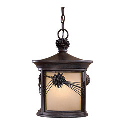 The Great Outdoors - The Great Outdoors 9154-A357-PL 1 Light Chain Hung - The Great Outdoors 9154-A357-PL 1 Light Chain Hung