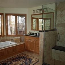 Traditional Bathroom by Ohana Construction Inc