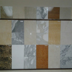 Marble Floors & Walls Interior Design - ( Marble & Porcelain tile Store )