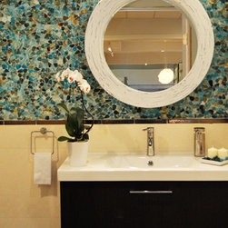 Private Residence - Our Riva Del Mar collection brings the colors of the Mediterranean to your Bathroom.