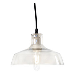 Zentique - Trevor Light - The Trevor Hanging Light features a glass pendant. Light bulb NOT included. UL Listed