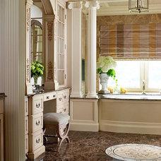 Eclectic Bathroom by Wilson Kelsey Design