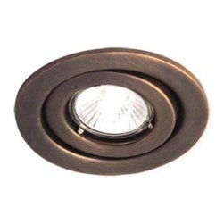BAZZ - BAZZ 300 Series 4 in. Halogen Recessed Rust Light Fixture Kit 300-141 - Shop for Lighting & Fans at The Home Depot. This elegant 4 in. recessed light features a classic Rust finish which will add appeal to any room. Great for locations throughout the house specifically to add direct light in kitchens, living rooms, etc. The multi-directional head allows you to cast light in a variety of areas.