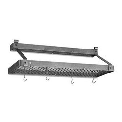 Enclume Double Shelf Pot Rack
