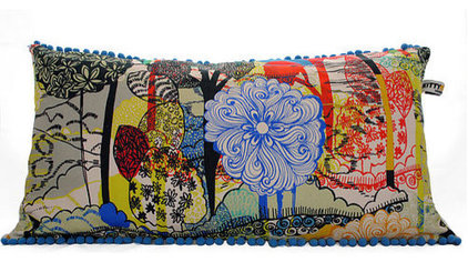 Eclectic Decorative Pillows by Not on the High Street