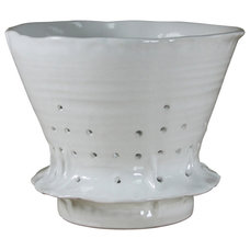 Contemporary Colanders And Strainers by Montes Doggett