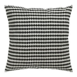 Anna Sörensson - Stockholm Cushion - I felt this one in person the other day, and it is both extra big and extra soft. I kept on wanting to pet it. (Can you pet a pillow?)