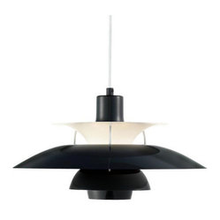 PH50 Pendant, Black, by Louis Poulsen