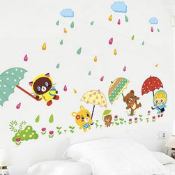 Queen B - Wall art sticker for children's bedroom. Packing size: Approx:45*60cm