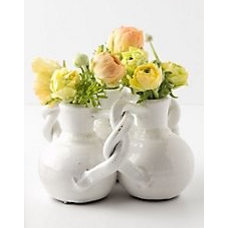 Interlocking Trio Vase - Anthropologie.com