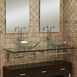 Dreamline Glass Vanity DLVG-206 - PRODUCT SPECIFICATIONS