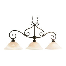 Trans Globe Lighting - Trans Globe Lighting 6393 ROB Island Light In Rubbed Oil Bronze - Part Number: 6393 ROB