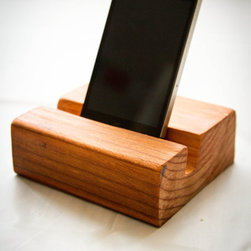 iPhone or iPad Wood Stand | Office, Desk Accessories - Kaci Felstet