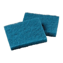 3M CORPORATION - SCOTCH-BRITE ALL PURPSCOURING PAD,BLUE,40/CS - CAT: Chemicals & Janitorial Supply Sponges & Scrubbers Sponges & Scouring Pads