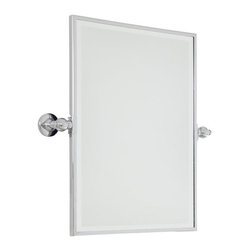 "Minka Lavery - Minka Lavery 1440-77 Chrome Pivoting Bathroom Mirror Traditional / - Minka Lavery 1440 Traditional / Classic Rectangle Mirror  Rectangle Mirror Dimensions: 18""W x 24""H x 3 1/4"" Extension"