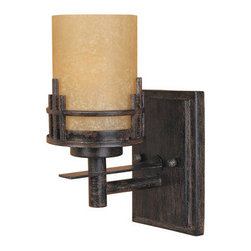 Designers Fountain - Designers Fountain 82101 Asian Single Light Up Lighting Wall Sconce from the Mis - Features: