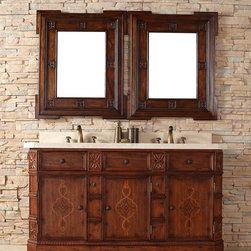 "60"" Charleston Double Sink Vanity -"