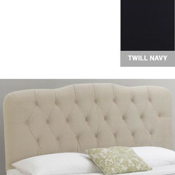 Home Decorators Collection - Custom Isabella Upholstered Headboard - With a delicately curving shape and a soft, plush appearance, our Isabella Upholstered Headboard will instantly upgrade the look of your bedroom furniture. And with such a wide variety of beautiful fabric options available, you are sure to find one that will match your bedroom decor. Includes hardware to attach to most standard bed frames. Assembled to order in the USA and delivered in 4-6 weeks. Spot clean only.