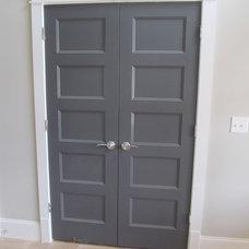 Contemporary Interior Doors by Jarman Homes