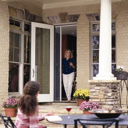 Online shopping for furniture decor and home for Inside mount retractable screen door