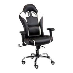 Pitstop Furniture - Pitstop Black SE Office Chair - Pitstop Black SE Office Chair