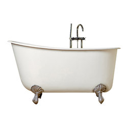 72 Inch Cast Iron Double Slipper Clawfoot Tub Bathtubs Find Clawfoot Tub And