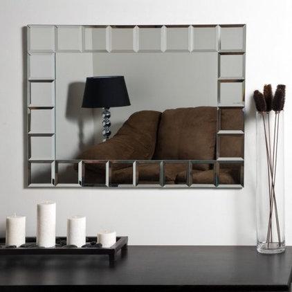 Contemporary Bathroom Mirrors by Hayneedle