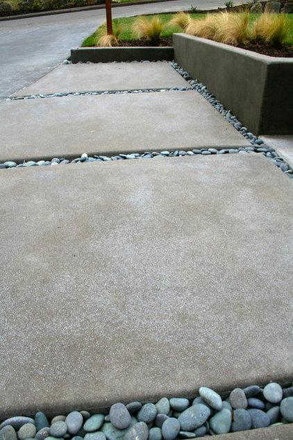 Acid-Etched Concrete