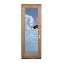 High Seas Glass Door - ..... First impressions count!   ..... Glass Doors and Entries that Make a Statement.