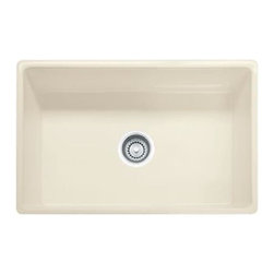 "Franke - Farmhouse Sink - Franke FHK710-30LN Farm House Fireclay 30"" Single Bowl Apron Front Linen"
