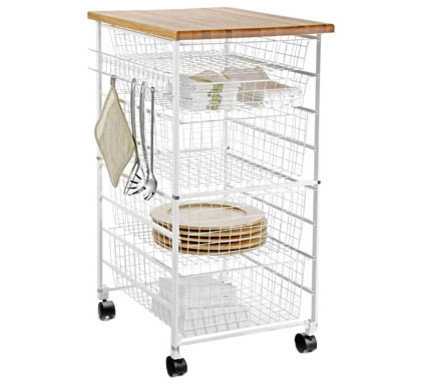 Contemporary Kitchen Islands And Kitchen Carts by The Container Store