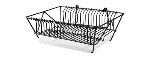 Tina Christensen - Fintorp Dish Drainer - Rework your counter space by moving the drying rack to the wall. Clever!