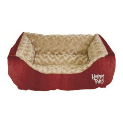 Happy Tails - Happy Tails Corduroy Cuddler Dog Bed - 17L x 20W in. - 39030 - Shop for Beds Covers and Fill from Hayneedle.com! The Happy Tails Corduroy Cuddler Beds are made of a beautiful colored corduroy fabric on the outside of the bed and super soft faux fur on the inside for your dog's enjoyment.