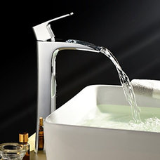 Modern Bathroom Faucets And Showerheads by Faucetsuperdeal.com