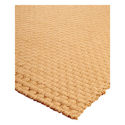 """Natural Area Rugs - """"Caesar"""" Jute Rug, 100% Natural Jute, Hand Woven - All natural, hand woven by Artisan rug maker. Jute is naturally durable yet soft. Like any rug, rug pads are recommended as it will prolong the longevity of your jute rug and protect hardwood floor. Do not pull loose fiber, clip and remove the loose ends with scissors. Variations are part of the natural beauty of natural fiber."""