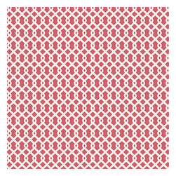 Pink Small Geometric Cotton Fabric - Flamingo pink & white mazelike lattice.  A little pizazz will go a long way.Recover your chair. Upholster a wall. Create a framed piece of art. Sew your own home accent. Whatever your decorating project, Loom's gorgeous, designer fabrics by the yard are up to the challenge!