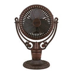Fanimation FPH210RS Ceiling Fan Assembly Old Havana Collection -
