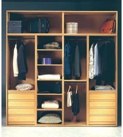 Closets economicos for Closets de madera modernos economicos