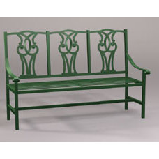 Traditional Outdoor Benches by gardenartisans.us