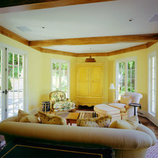 Traditional Family Room by Canyon Construction