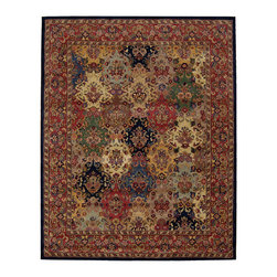 Nourison - NOUR-12139 Nourison India House Area Rug Collection - Traditional designs are the hallmarks of this collection of area rugs. Featuring classic traditional patterns, as well as striking contemporary motifs, there's something here for any decorating preference. This is truly an extraordinary combination of beauty and value.