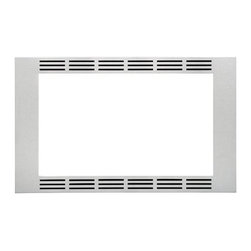 Panasonic - Trim Kit - Panasonic's NN-TK922SS 27 In. Wide Trim Kit, in stainless steel, is designed for select Panasonic 2.2 cu. ft. microwave ovens. This built-in trim kit allows you to neatly and securely position select Panasonic microwave ovens into a cabinet or wall space in your kitchen. Kit includes all the necessary assembly pieces and hardware to give your Panasonic microwave oven a custom-finished look.27-inch wide trim kit for select Panasonic microwave ovens|Compatible models include NN-SE982S, NN-SD997S and NN-SD962S|Neatly and securely position a Panasonic microwave oven into a cabinet or wall space in your kitchen|Kit includes installation instructions and all the necessary assembly pieces and hardware|Color: Stainless Steel|  panasonic| nn-tk922ss| nntk922ss| nn-tk922| nntk922| nn-se982s| nnse982s| nn-sd997s| nnsd997s| nn-sd962s| nnsd962s| nn-se982| nnse982| nn-sd997| nnsd997| nn-sd962| nnsd962| trim| kit| for| microwave| oven| ovens| built-in| built| in| countertop| counter| top| 27"