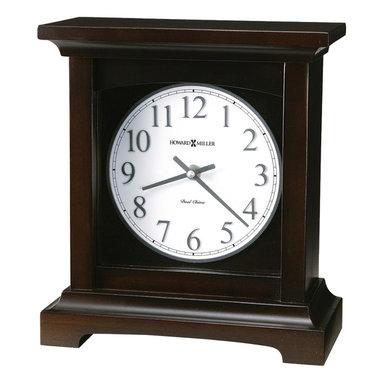 Howard Miller - Howard Miller Dual Chime Urban Style Mantel Clocks | URBAN MANTEL II - 630246 URBAN MANTEL II