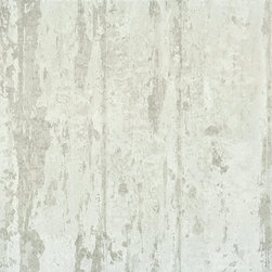 Modern Rustic Wood Wallpaper, Gray - Aside from skinning an actual tree and placing the bark on your walls, this modern yet rustic wallpaper has the most natural look and feel without being alive. In a mutable, neutral tone, this paper will add dimension and depth to your home along with an indoor, outdoor feel.