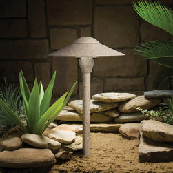 Kichler Lighting - Kichler Lighting 15410BE Landscape 12v 1 Light Pathway Lighting in Beach - This 1 light Landscape Path Light from the Landscape 12V collection by Kichler will enhance your home with a perfect mix of form and function. The features include a Beach finish applied by experts. This item qualifies for free shipping!