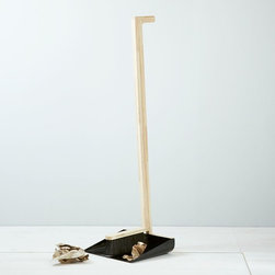 Dustpan + Broom Set, Black - I like to get my kids involved with cleaning up. This broom and pan are not only attractive, but just the right height for my little ones.