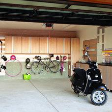 Contemporary Exterior by California Closets HQ