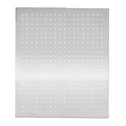 Blomus - Muro 19.75 in. Stainless Steel Magnet Board - Rectangular in shape. Made of stainless steel, perforated matte finish. 1-Year manufacturer's defect warranty. 19.75 in. L x 23.7 in. W